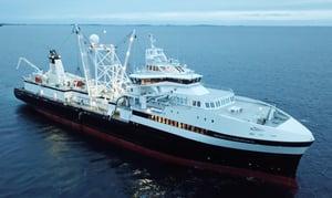 Antarctic Endurance-Krill fishing vessel with FlowCam