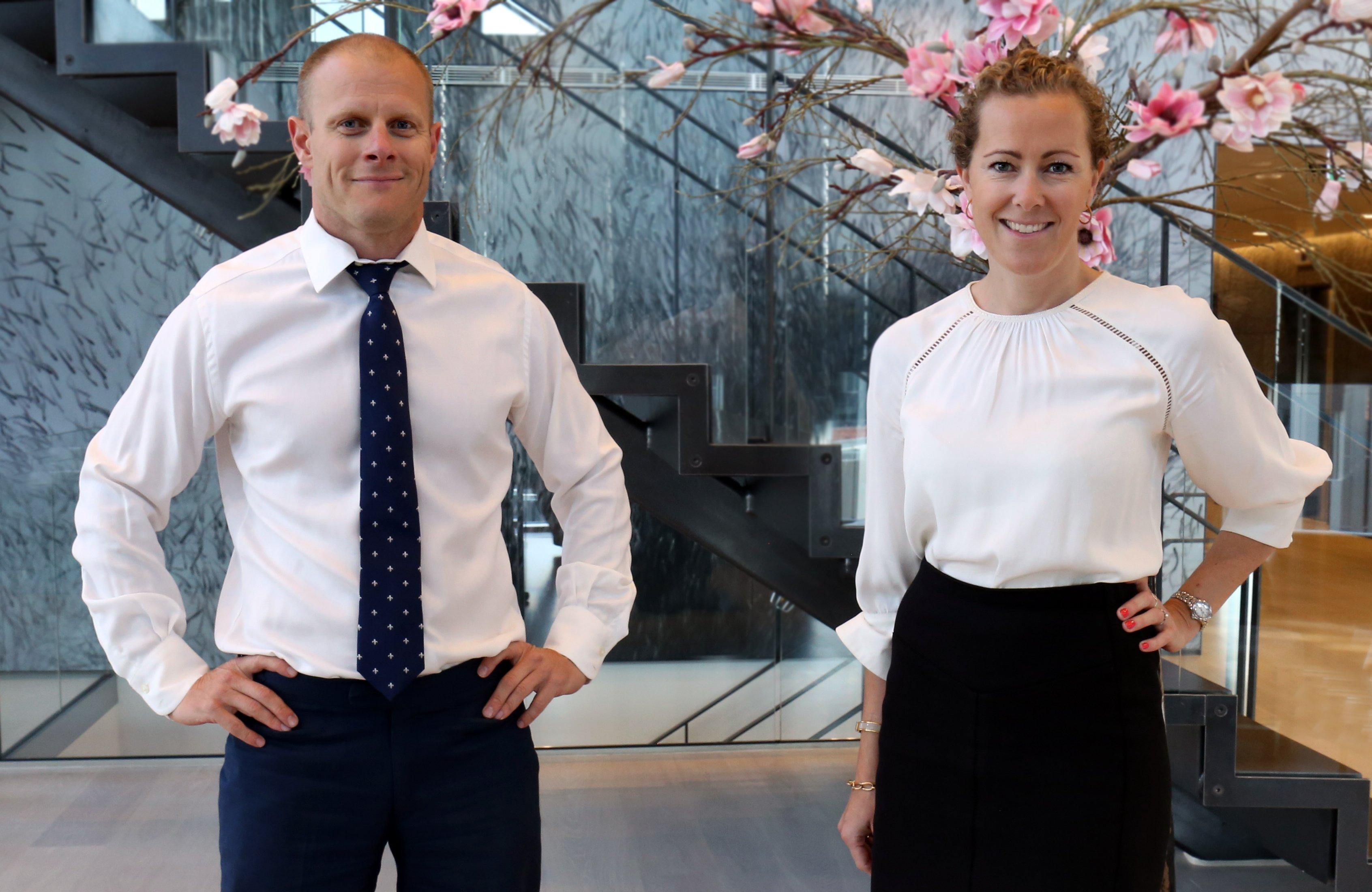 Matts Johnasen og Katrine Klaveness_