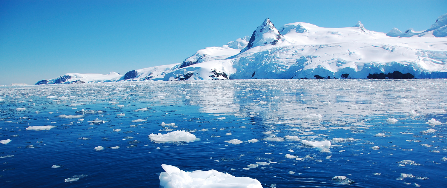 Superba hero image- Antarctica - icy ocean
